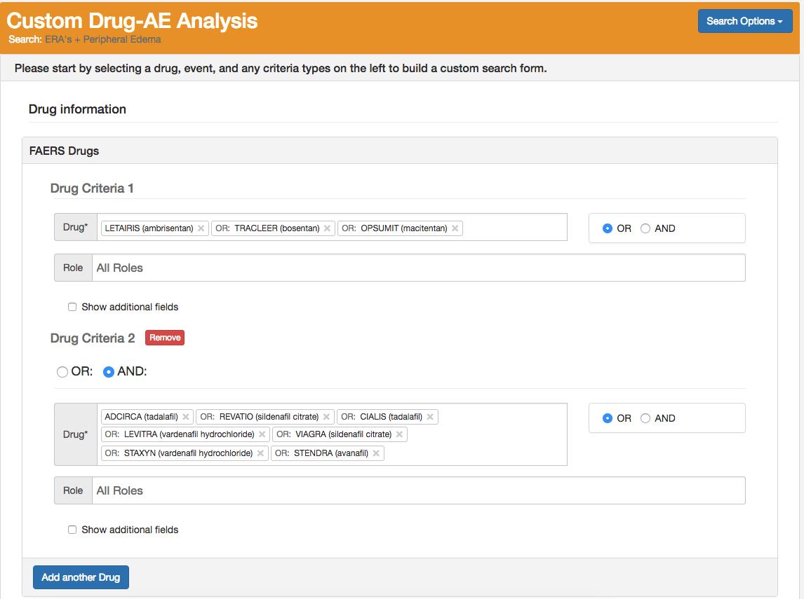 ACA blog search form drug
